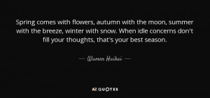 Spring Flowers In Snow Quotes Spring comes with flowers,