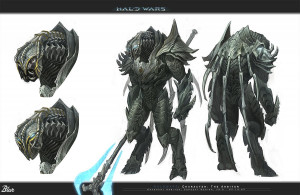 ... little story with more pictures here: Halo Wars: Arbiter Redesign
