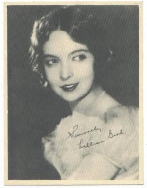 Lillian Gish Kashin Fan Photo