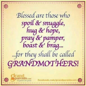 am blessed more than i deserve | Grandmother Blessings