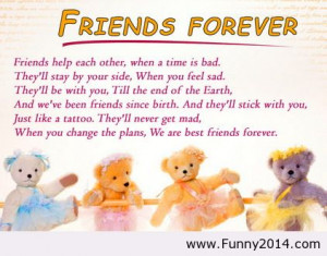 Cute Pics Of Friends Forever With Quotes 2014 funny 2014 funny