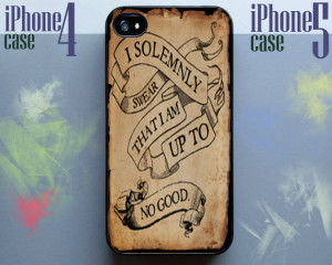 Harry Potter quote - I Solemnly Swear That I Am Up To No Good iPhone ...
