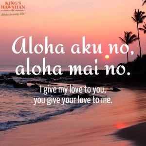Who would you send this message of Aloha to? #quote Hawaiian Quotes