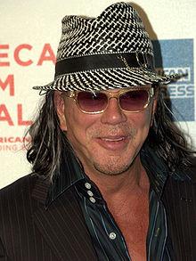 Mickey Rourke (ur. 1952) – amerykański aktor i scenarzysta.