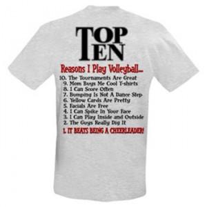Top Ten Volleyball T-shirt