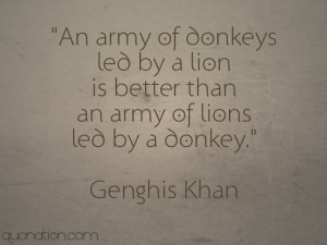 genghis khan happiness quotes genghis khan banner