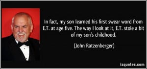 More John Ratzenberger Quotes