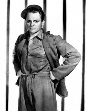 """James Cagney in """"Angels With Dirty Faces"""" (1938)"""