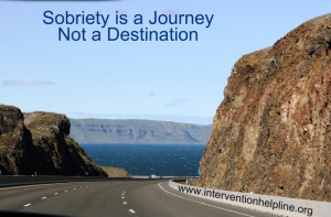Sobriety is a journey, not a destination...recovery sayings and quotes ...