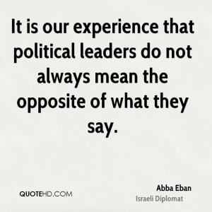 Abba Eban Politics Quotes