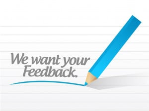 you would like for us to contact you about the feedback you have ...