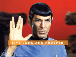 ... Has Died: Leonard Nimoy Best Spock Quotes from Star Trek : People.com