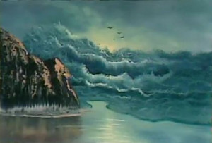 Bill Alexander Demonstrates Painting a Seascape