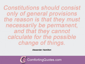 Quotes And Sayings By Alexander Hamilton