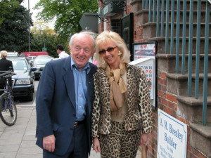 Magician Paul Daniels and wife, Debbie McGee.