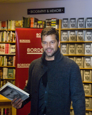 Martin has signed over 700 books at the Borders in Lincoln Park
