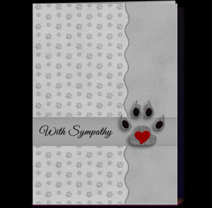 Cat Sympathy Cards And More