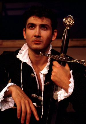 Prince Hal, played by John Farmanesh-Bocca at the Carmel Shakespeare ...