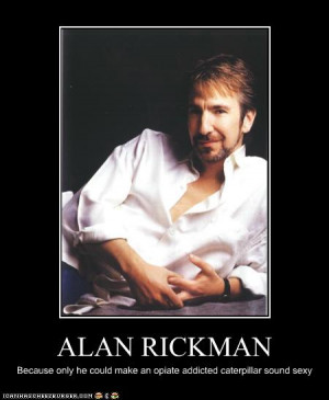 Some Alan Rickman love