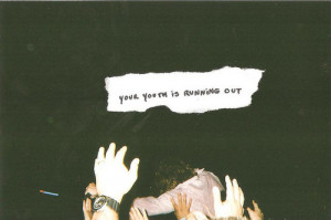 forever young, quote, text, typography, word, words, youth