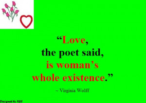 Best Women English Quotes: Quotes of Virginia Wolff, Love, the poet ...