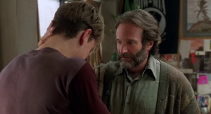 Sean Maguire from the screenplay Good Will Hunting about the ...