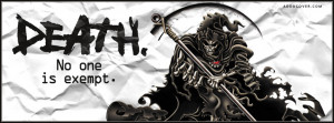 Grim Reaper Facebook Cover