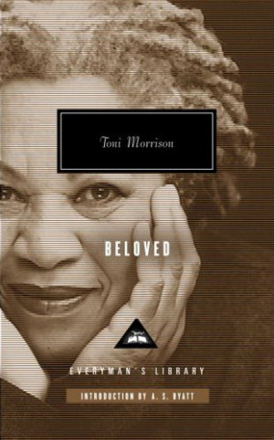 ... Toni Morrison? A picture of Toni Morrison on the cover of Beloved