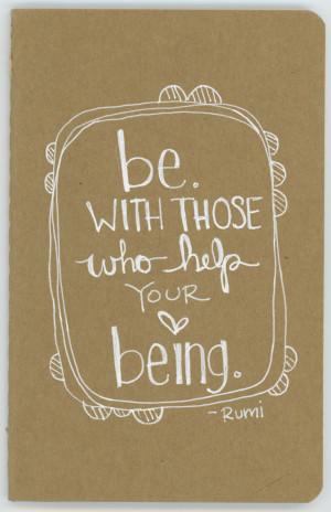 rumi art cards, find yourself, rumi inspirational