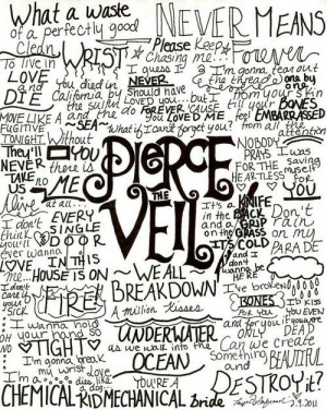 lyric quotes pierce the veil pierce the veil self harm pierce the veil ...
