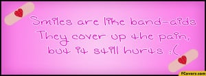 Smiles Quote Facebook Timeline Cover
