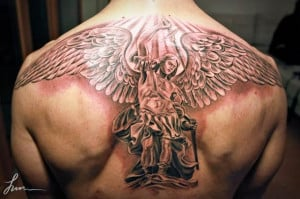 ... Tattoos by Jun Cha – Between Ancient Greece and Renaissance