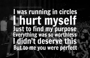 Quote from Circles by Hollywood Undead