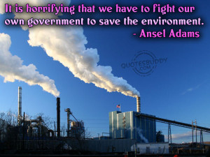 It is horrifying that we have to fight our own government to save the ...