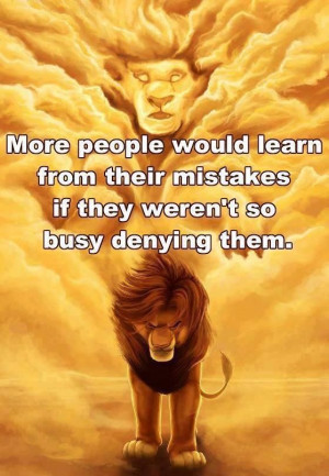 Leo the lion, & a quote