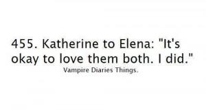 elena, katherine, quote, tvd, typography, vampire diaries