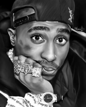 ... hip hop rap My art best RIP 2pac Tupac thug life legend shakur hiphop