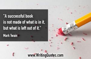 Mark Twain Quotes - Successful Left