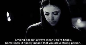Elena quotes - The Vampire Diaries Picture