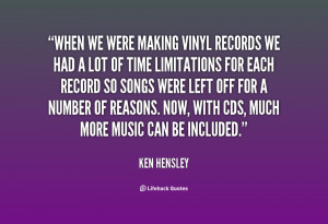 Vinyl Records Quotes