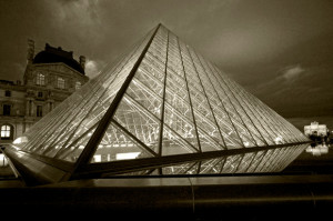 France Paris The Louvre And