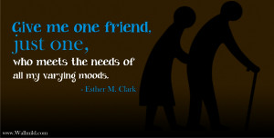 Cute Friendship Quotes HD Wallpaper 9