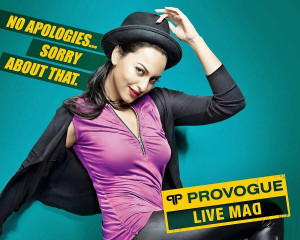Sonakshi Sinha in Provogue