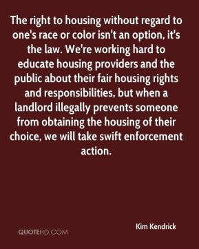 to educate housing providers and the public about their fair housing ...