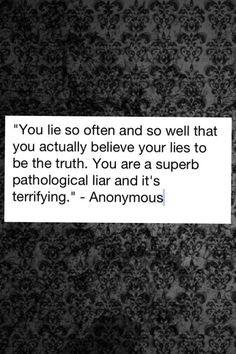 pathological liars More