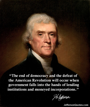 The End Of Democracy...
