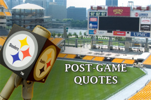 Steelers-Raiders Post-Game Quotes