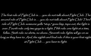Fight Club quote HD Wallpaper 1920x1080 Fight Club quote HD Wallpaper ...