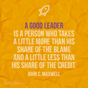 Good Boss Leader Quotes