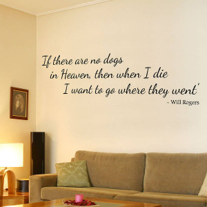 Dog Lovers Quotes Wall quote stickers